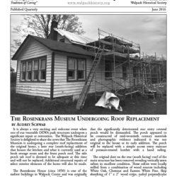 June 2016 Newsletter